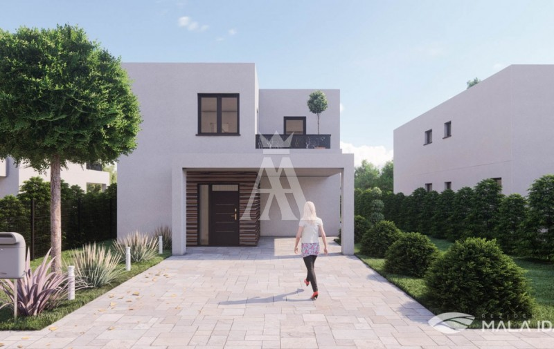 výmera pozemku 586 m², úžitková plocha 138,6 m² + terasy 16,6 m²