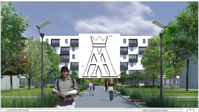 celková plocha 3760 m², vhodné k prestavbe na bytový komplex s polyfunkciou